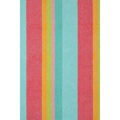 Tiki Stripe Woven Cotton Rug | Gracious Style